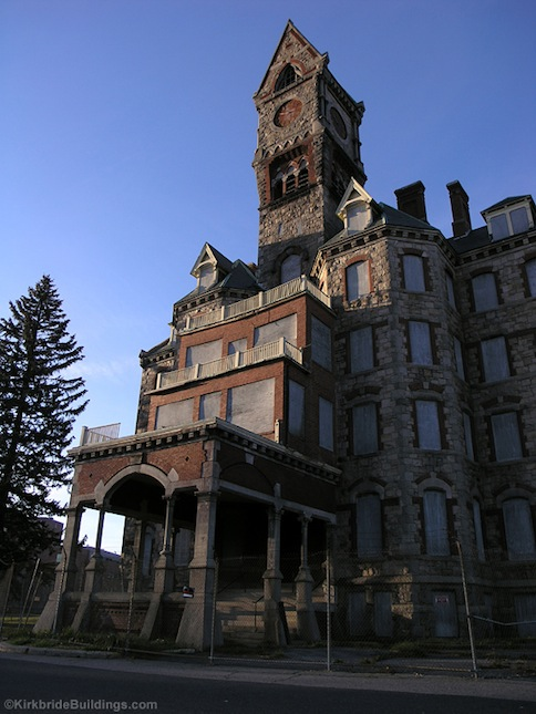 Worcester State Hospital Clocktower